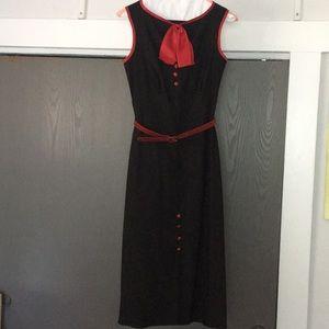 Stop staring sleeveless dress